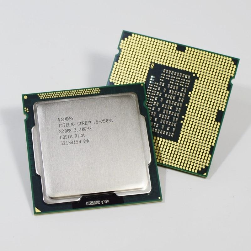 Intel i5 2500K Quad-Core 3.3GHz LGA 1155 Processor TDP 95W 6MB Cache With HD Graphics i5-2500k Desktop CPU
