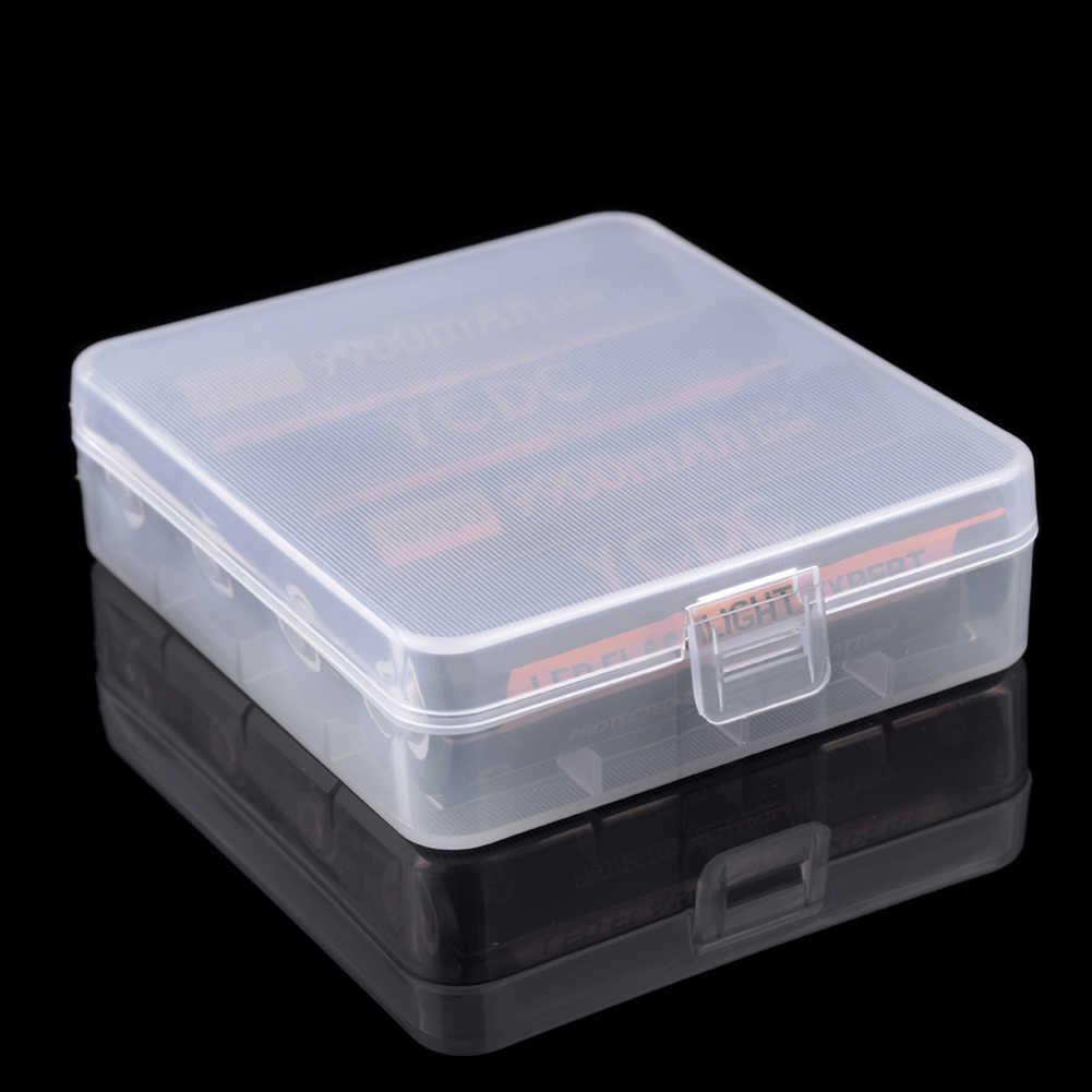 Ycdc 18650 Pin Kèm Pin Hộp Lưu Trữ Cứng Túi Cho Máy Ảnh Kỹ Thuật Số Pin Sạc Vỏ Tế Bào Nhựa Cứng Nhám