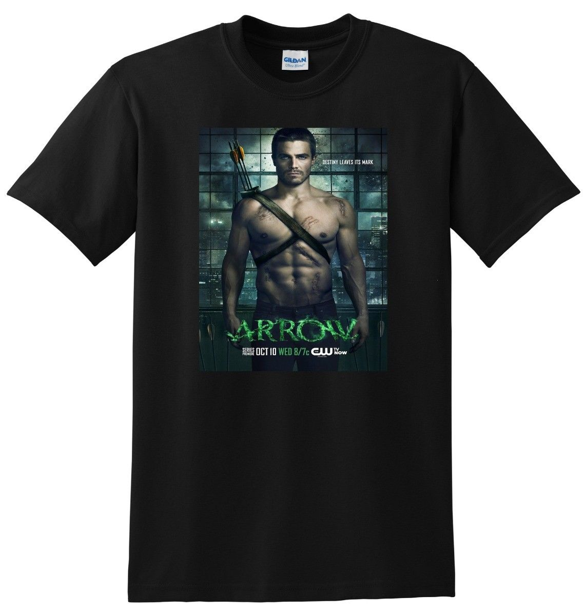 *NEW* ARROW T SHIRT Tv Show Season 1 2 3 Summer Tops Tees T-