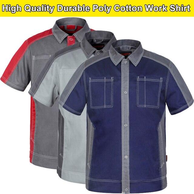 Bauskydd Bauskydd High Quality Dark Blue Engineer Workwear Work Polo