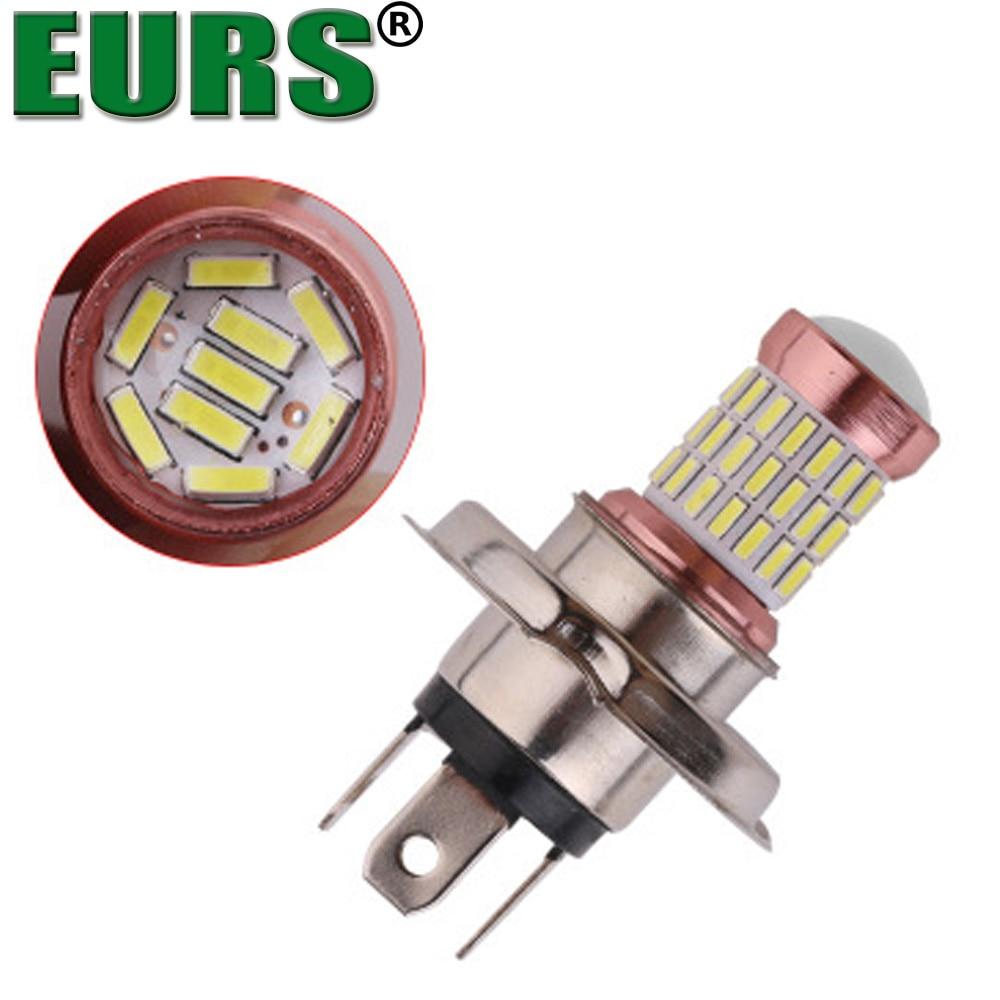 EURS TM 2PCS high quality LED bulbs Car headlights 60 smd H4 6000K H7 H11 9005