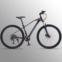 Велосипед wolf's fang, горный велосипед, 27 скоростей, 29 дюймов, шоссейные велосипеды из алюминиевого сплава, mtb bmx, двухдисковые тормоза