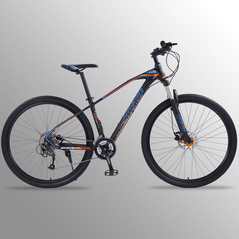 Lobo fang Bicicleta Mountain bike velocidade 27 29 Polegada freios a disco Duplo de Liga de Alumínio Bicicletas de Estrada mtb bmx bicicletas de Frete grátis