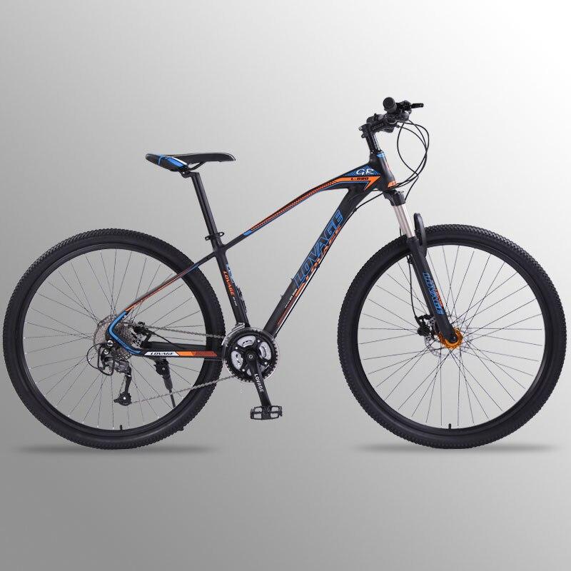 Lobo fang bicicleta mountain bike 27 velocidade 29 Polegada liga de alumínio bicicletas estrada mtb bmx bicicletas freios a disco duplo frete grátis