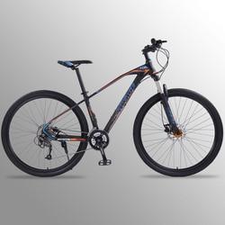 Wolf's fang bicicleta de montaña 27 velocidades 29 pulgadas aleación de aluminio bicicletas de carretera mtb bmx frenos de disco Dual de envío gratis