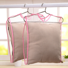 6pcs/set High Quality Portable Laundry Sweater Pillow Drying Rack Hanging Basket Folding Drying Mesh Clothes Dryer Net