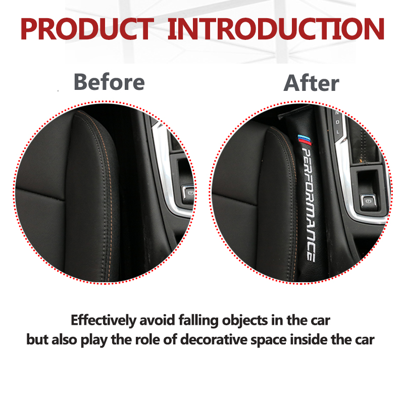 Image 5 - 2PCS Seat Gap Filler Soft Pad Padding Spacer For BMW M e46 e70 E91 E60 E90 X6 X5 M3 E39 F10 F30 F15 E92 E93 X3 M4 M5 M6 f20-in Car Stickers from Automobiles & Motorcycles
