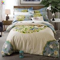 Главная Постельное белье большой красивый цветок постельных принадлежностей король постельное белье 100% хлопок взрослых постельные принад