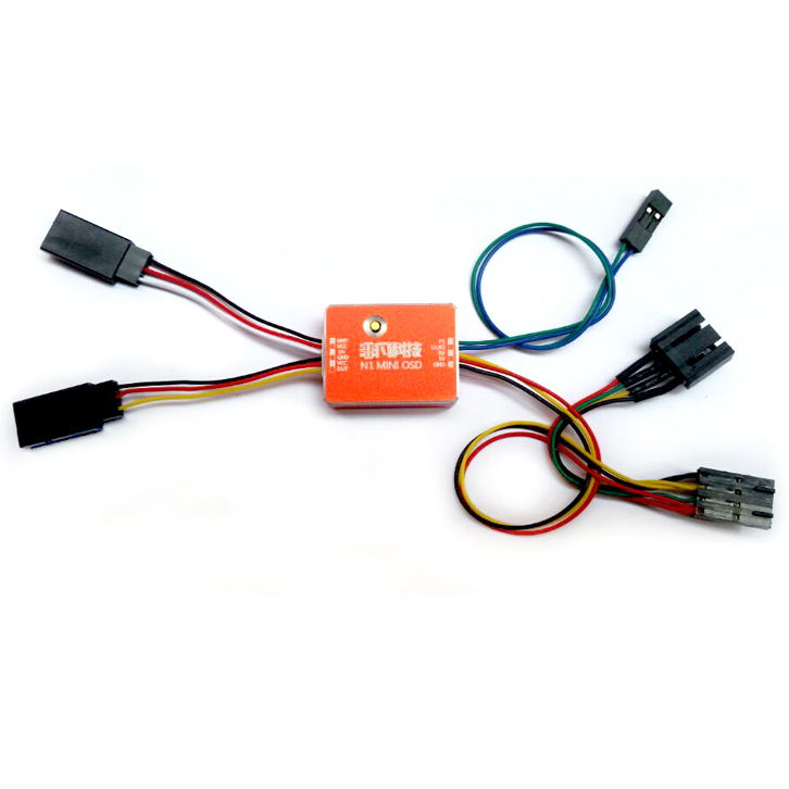 Fpv Flight Controller Mini N1 Osd Module With Case For Dji A2 Naza V1 V2 Lite Gps N2 N3: Naza Osd Wiring Diagram At Kopipes.co
