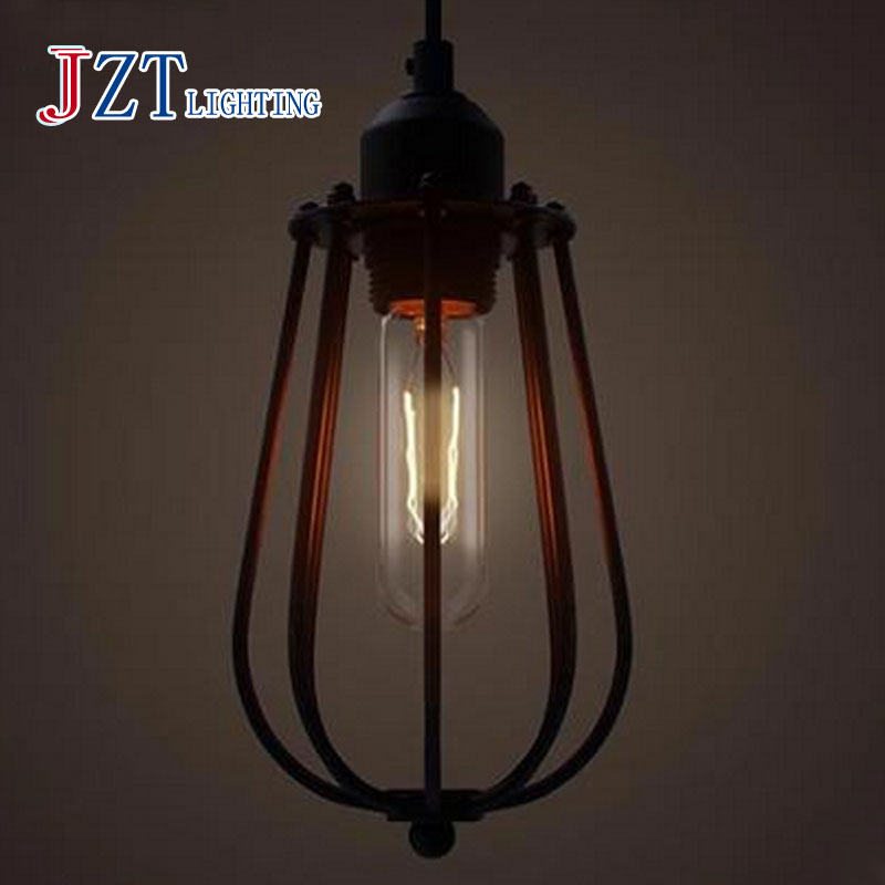 T LOFT Retro Creative Iron Pendant Light E27 American Industrial Pipes Style For Bar&Coffee Shop Decoration Artistical DHL Free american countryside style antique wrought iron pendant light iron light geometry coffee shop decoration light free shipping page 6