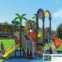 Волшебный весело новый стиль большой открытый площадка оборудование пластиковая горка для детей
