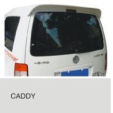 Для Volkswagen Caddy Спойлер ABS Материал заднего крыла unpaint Цвет VW Caddy задний спойлер для 2008 2009 2010 2011 2012