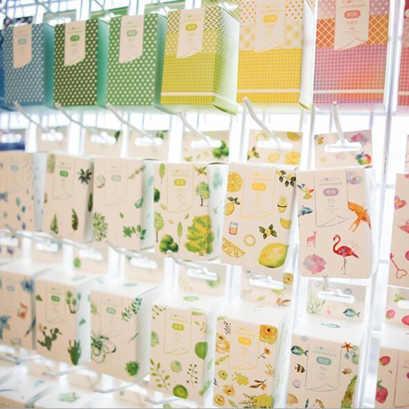 3pcs/Box Summer Lemon Washi Tape