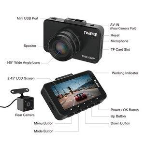 "Image 2 - ThiEYE Safeel 3/3R DVR Dash Camera Russian Version 145 Degree Vehicle Camera Real 1080P Dash cam G sensor 2.45"" Rear View Camera"