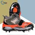 Размеры M/L  12 Зубцов  для альпинизма  пешего туризма  противоскользящая обувь для снега и льда  шипы  обувь  Нескользящие  высокое качество