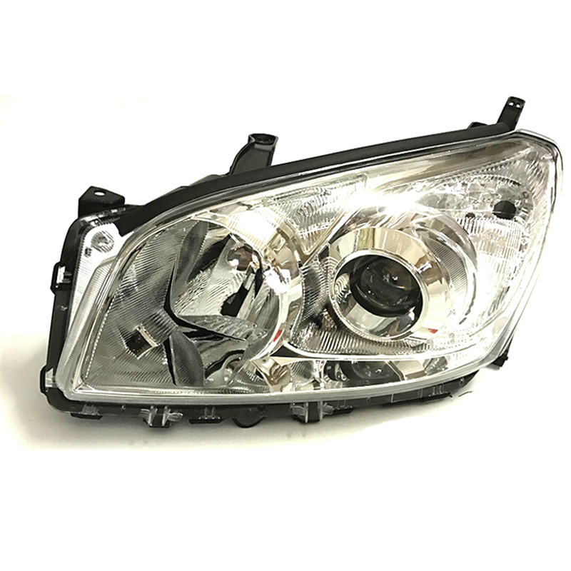 Ownsun Ownsun Original Replacement Chorme Housing Halogen Headlights For Toyota RAV4 2009-2012 brand new original replacement chorme housing halogen headlights for toyota camry 2007 2009