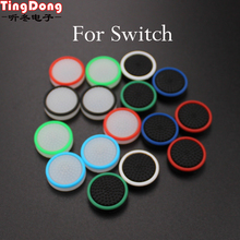 TingDong four pcs Silicone Analog Thumb Stick Grips for Nintend Swap PRO Controller Thumbstick Caps for NS PRO Joystick Cowl