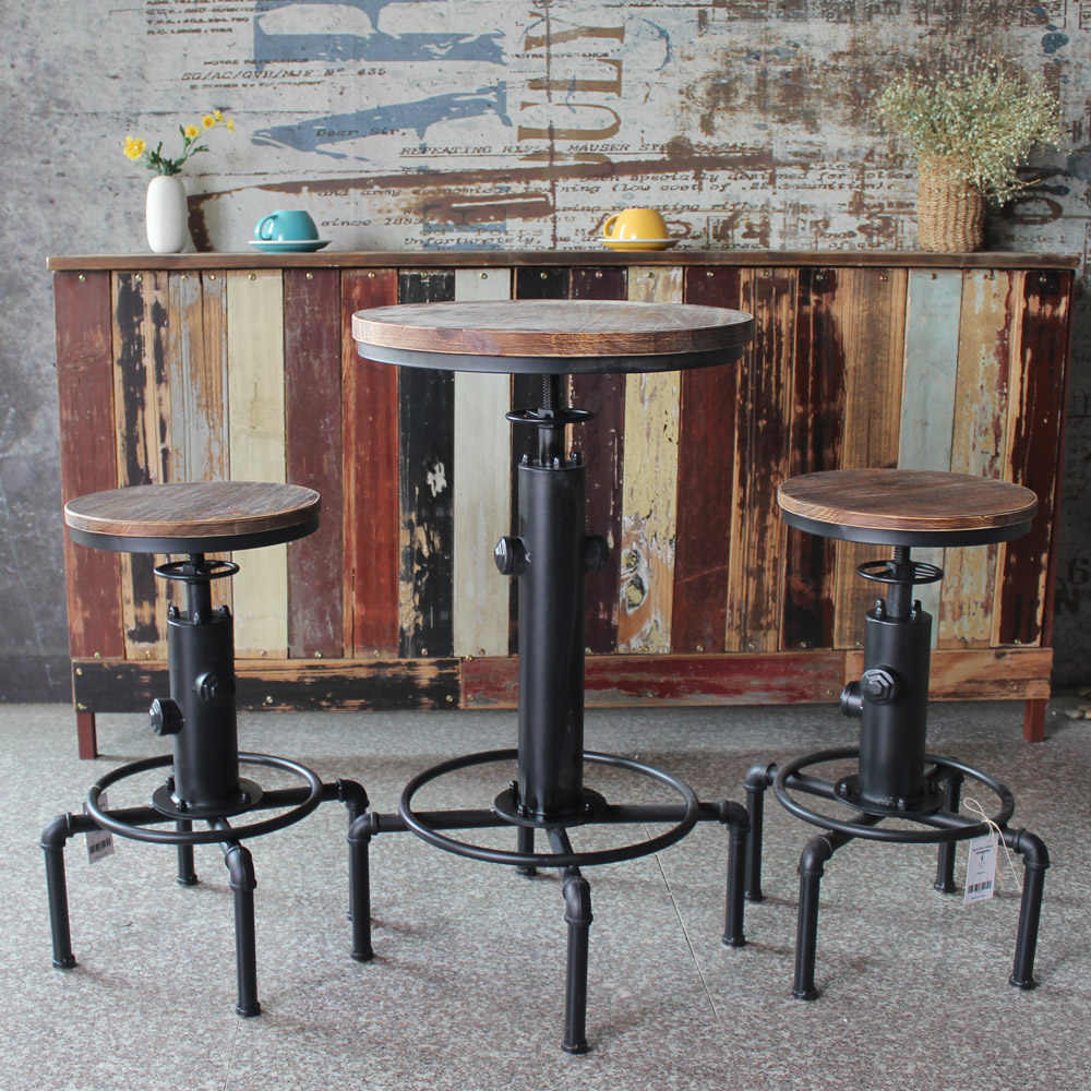 Round Table Chair Height Adjule