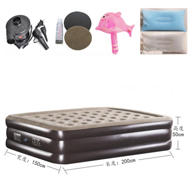 Надувной матрас Топпер Складной Надувная Кровать Мягкая Кровать Cama Мебели Для Спальни Muebles Де Dormitorio Бесплатная Доставка