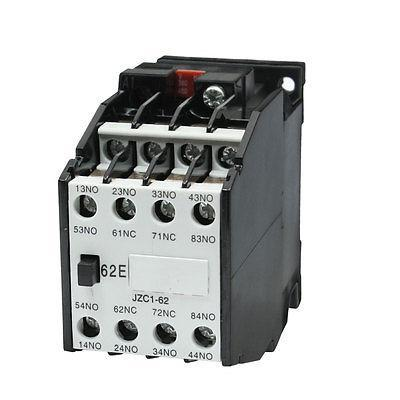 Ui660V Ith10A Coil 380V 50Hz 460V 60Hz 3 Pole Auxiliary Contactor Relay ac motor contactor din rail mount 3 phase 3p 1no 1nc 80a rated current 24v 36v 220v 380v coil volt contacts relay 125a ith