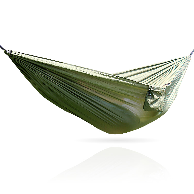 Net Sleep Single Hammock Tree Strap Portable Camping Hammock