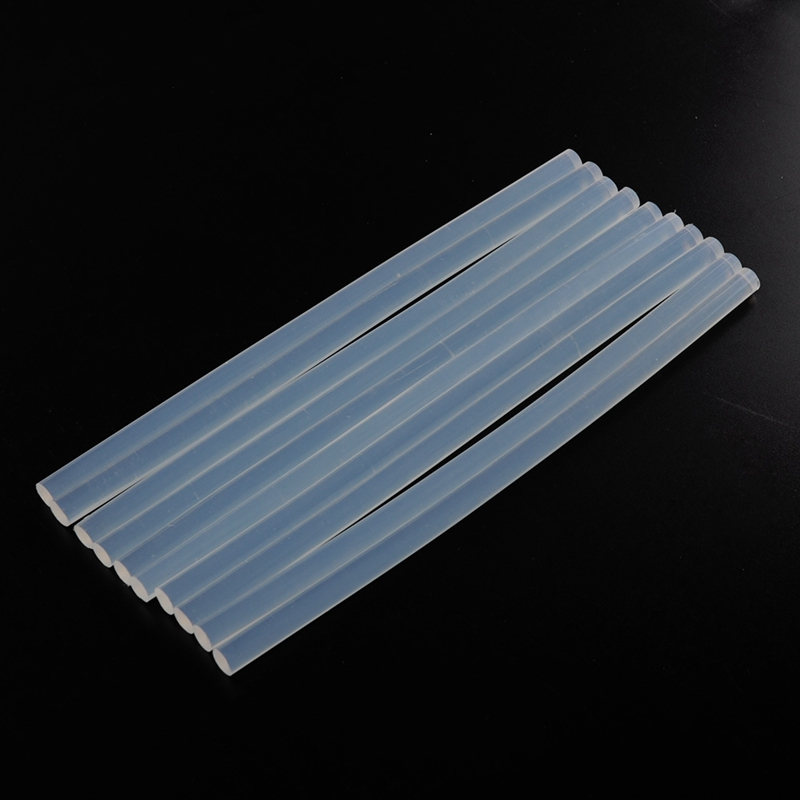 Kuke DIY 10pcs 7/11*100/200mm Hot Melt Glue Sticks For Electric Glue Gun CraCraft  Album Repair Tools For Alloy Accessories