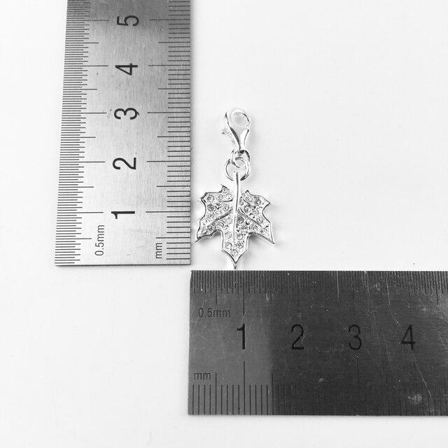 Maple Leaf Pendants 925 Sterling Silver Boho Cannabiss Weed Herb Charm Fit Bracelet Necklace Hip Hop Tropical Leaf For Women 1