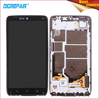 5 2 Black For Motorola Moto Droid Turbo XT1254 XT1225 LCD Display Touch Screen Digitizer Assembly