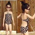 2017 Sleeveless Retailed New Arrival Kids Girls Princess Baby Bikini Swimwear Swimsuit Bathing Swimming Costume 2-7Y
