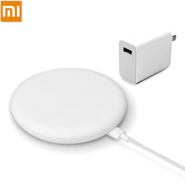 100% oryginalna bezprzewodowa ładowarka Xiao mi szybka 20W Max dla mi 9 20W mi X 2 S/3 10W Qi EPP kompatybilny telefon komórkowy 5W wiele sejf
