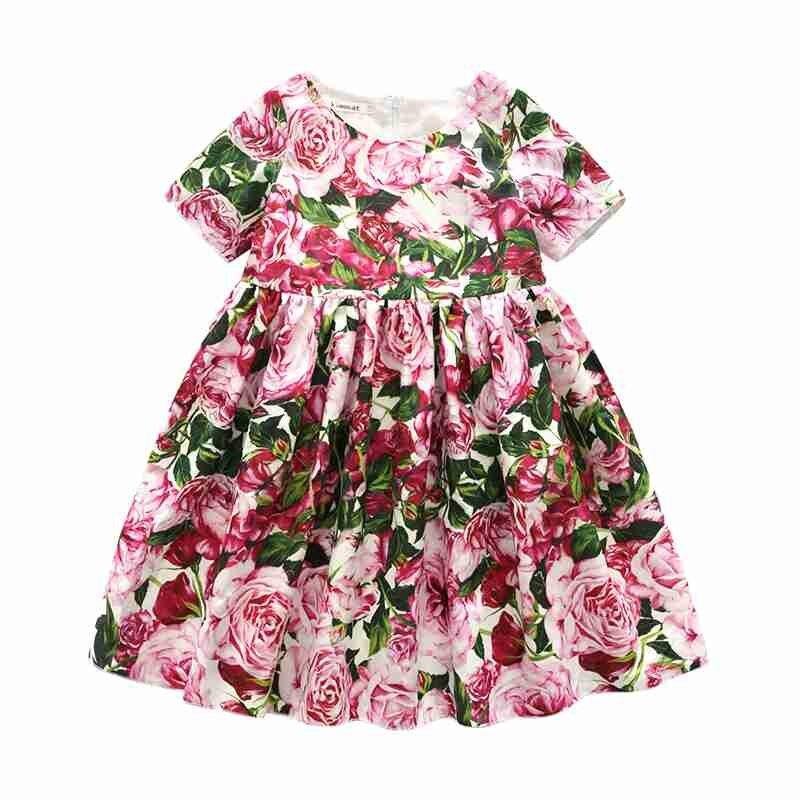 Rosa kleid 110