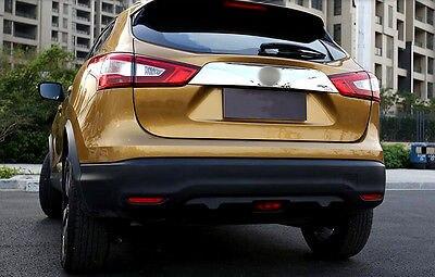 Rear Trunk Lid Decoration Molding Cover Trim for Nissan Qashqai 2014 2015 2016