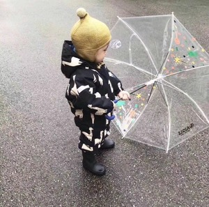 Image 3 - 2019 roupas da menina do bebê presentes de natal meninos roupas meninas tc roupas do bebê macacão casacos de inverno roupas lama