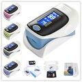 Display LCD Digital de pulso Dedo Oxímetro Oxímetro de pulso de Oxigênio No Sangue SpO2 Saturação Oxímetro Monitor De Cuidados de Saúde