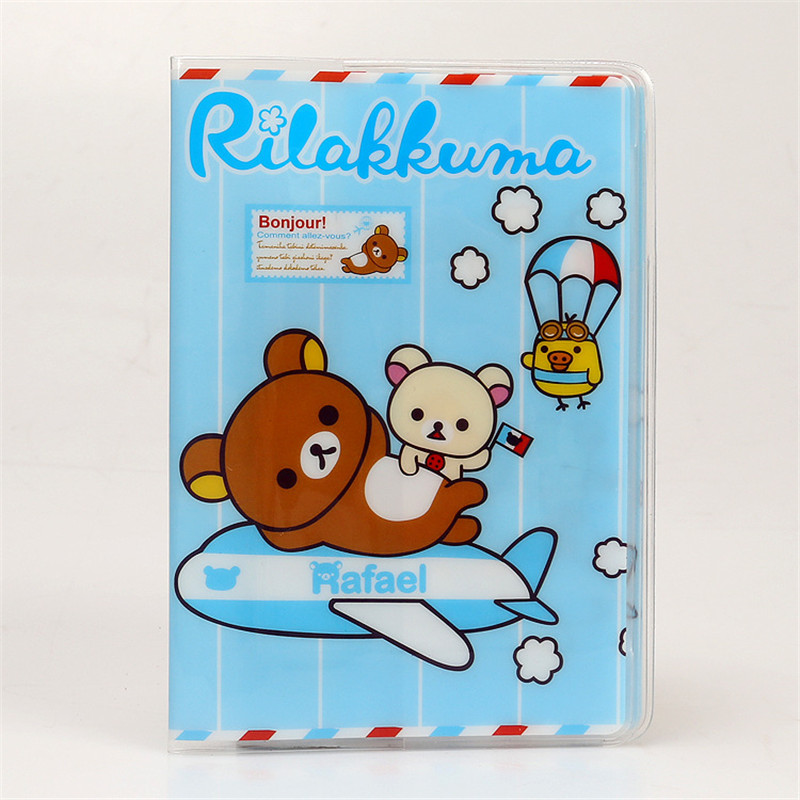 Luggage & Bags Cartoon Rilakkuma Travel Passport Holder Document Card Passport Case Passport Cover Passport Holder Protect Cover Worldwide Sale