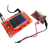Hot New DC 9V 1Msps Digital Oscilloscope Kit SMD Soldered Version Electronic DIY Learning Kit Assembly