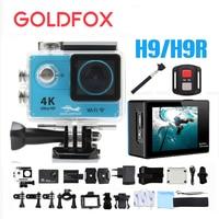 H9/H9R Ultra 4K Wifi Action Camera 12MP 1080P 60FPS Full HD Outdoor Sport Video Camera 30M Go Waterproof Pro Sport DV Bike Cam
