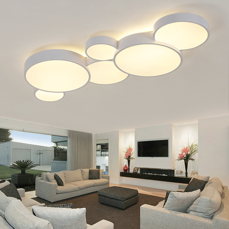 led ceiling lights Living room lamp simple modern ceiling lamp creative hall lamp Nordic bedroom warm room led light