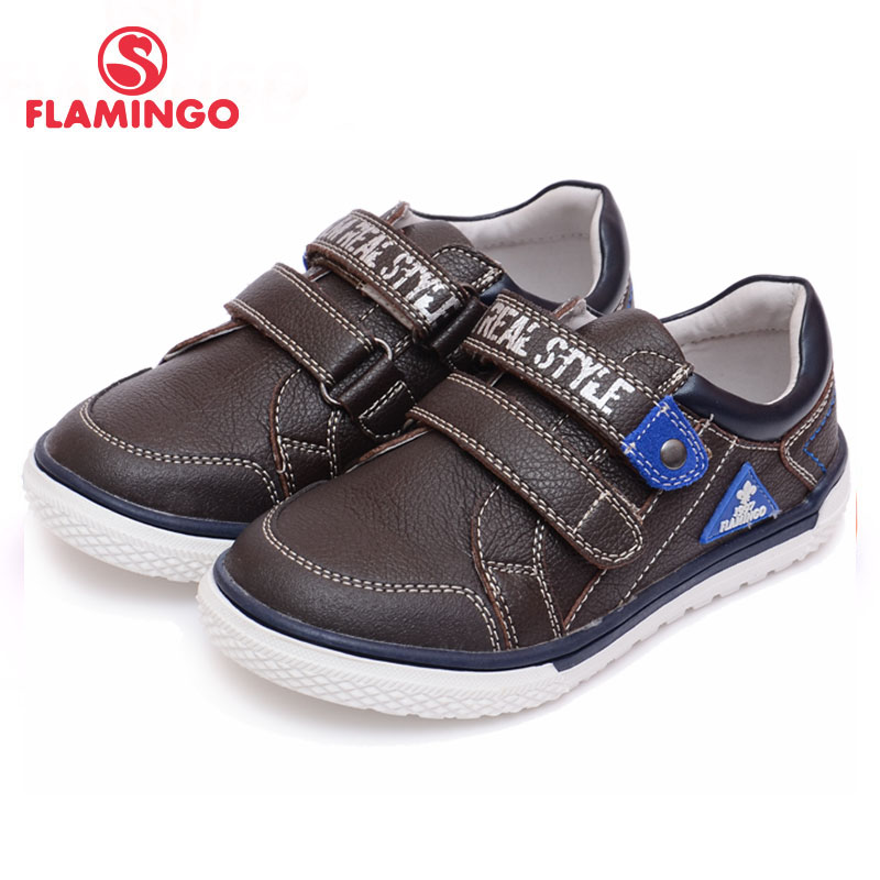 FLAMINGO 100% Russian Famous Brand 2016 New Arrival Spring & Autumn Kids shoes Fashion High Quality children sneakers 61-CP118