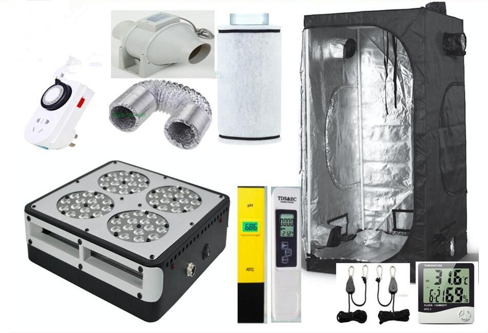Buy complete grow tent indoor hydroponic for Indoor gardening ventilation system