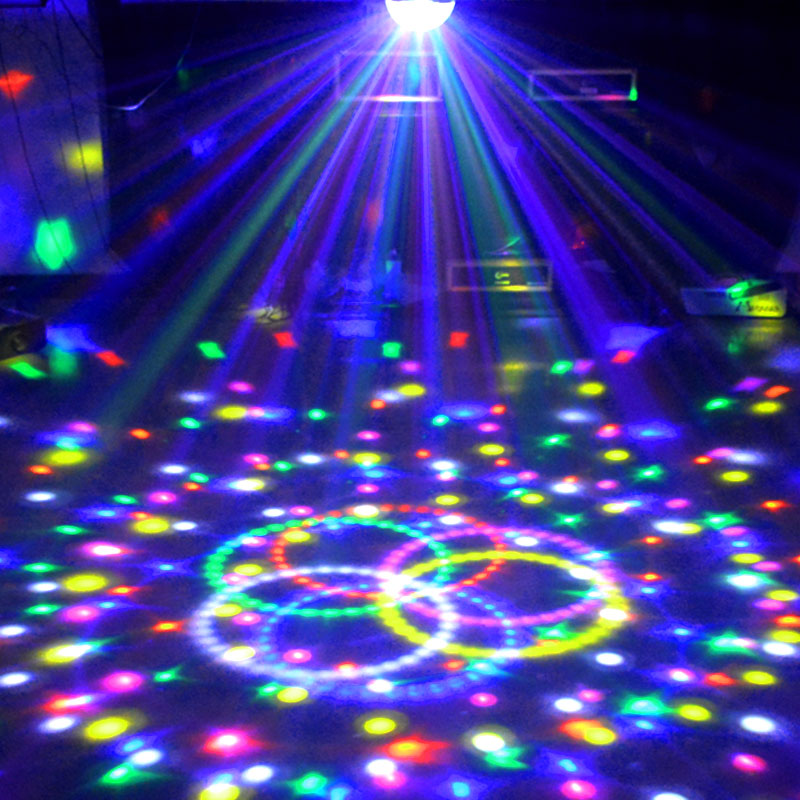 Lampe de scène Led Disco Light Laser 9 Couleurs 21 Modes DMX DJ - Éclairage commercial - Photo 3