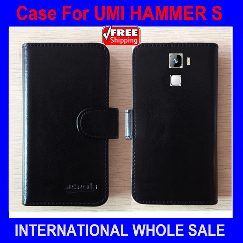 Hot! HAMMER S UMI Case, New Arrival Factory Price Flip Leather Exclusive Cover Case For UMI HAMMER S Case tracking number