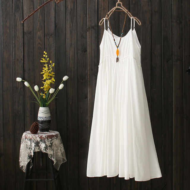 Female White Cotton Hippie Boho Bohemian Ethnic Tunique Femme ...