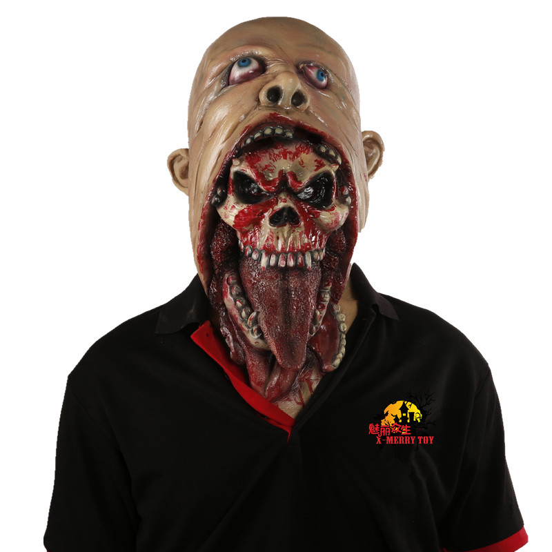 dreadful horror halloween blurp charlie style halloween latex masks halloween costume devil men in party masks from home garden on aliexpresscom