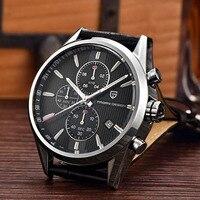 Для мужчин модные классические Лидирующий бренд кварцевые часы Multifunction Sport Военная Униформа часы для мужчин часы Pagani Дизайн Dive 30 м