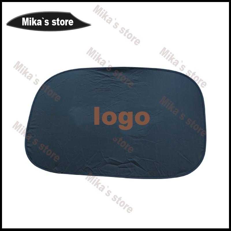 For mini cooper all series car-styling sun shade National Flag Design Heat Insulation Car Sunshade F55 F56 F54 R50 R53 R55 ECT