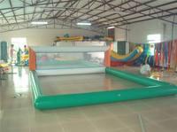 Надувные аттракционы футбольное поле воды игрушки для водного спорта цвет и размер