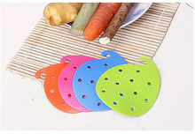 1PC Multi-functional Fruit Vegetable Brush Kitchen Tools Easy Cleaning For Potato Home Gadgets cooking tool KX 019