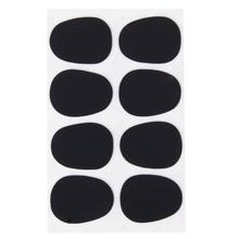 8pcs Alto/Tenor Saxophone Sax Mouthpiece Patches Pads Cushions Black---0.8mm(China)
