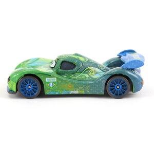 Image 3 - מכוניות דיסני פיקסאר מכוניות 2 קרלה Veloso מתכת Diecast ברקים מקווין מאטר ג קסון סטורם רמירז צעצוע רכב 1:55 Loose מותג צעצועים